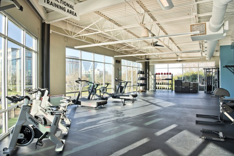 Sara's YMCA Functional Fitness Area